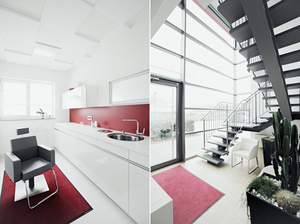Architektur, Zahnlabor, Zahntechnik Lückenlos, Eingangsbereich