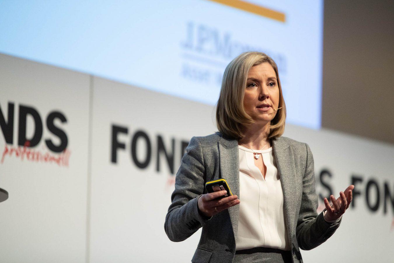 Karen Ward, Kongress, Vortrag, Mannheim, Event, J P Morgan